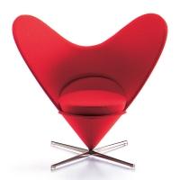 Vitra Miniatur Sessel Heart-shaped Cone Chair