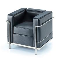 Vitra Miniatur Sessel Faut. à Grand Comfort LC2