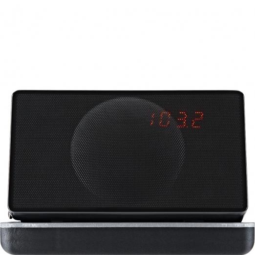 Geneva Model XS Radio Reisewecker Bluetooth - schwarz