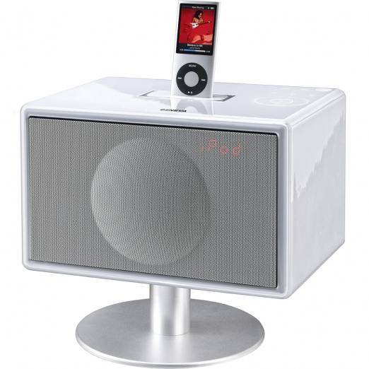 Geneva Model S Soundsystem mit Standfuß - weiß
