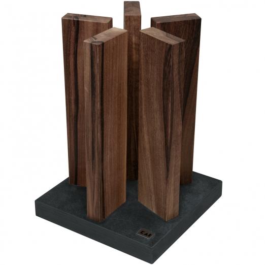 Kai Messerblock Stonehenge Walnussholz aus Red Wood
