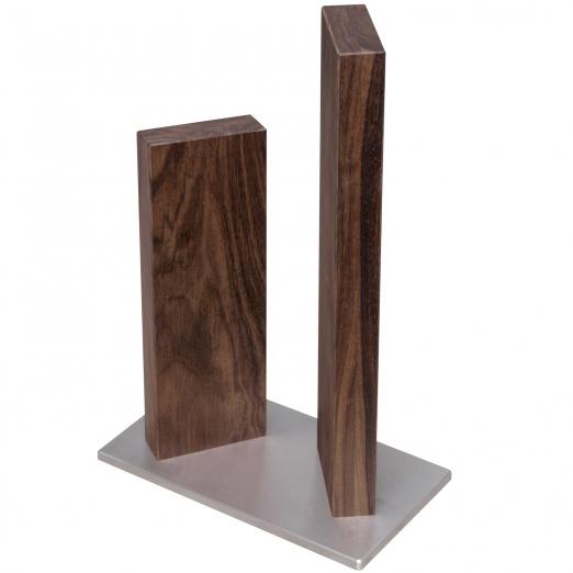 Kai Messerblock Stonehenge klein Walnussholz aus Red Wood