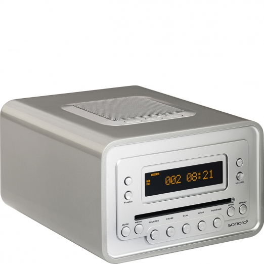 Sonoro Cubo Radio Cd-Player - silber