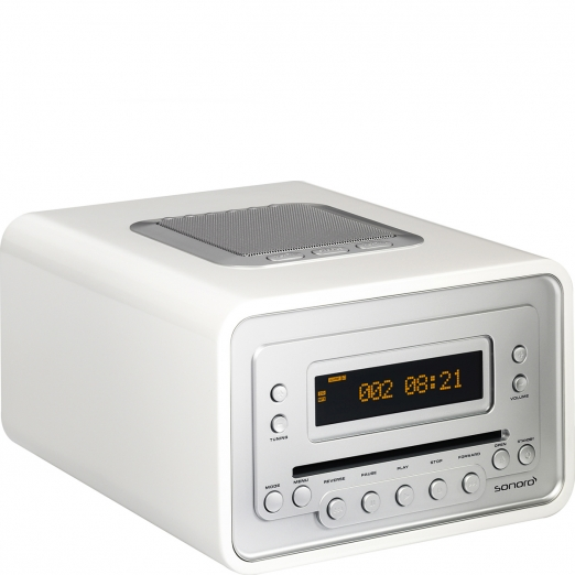 Sonoro Cubo Radio Cd-Player - weiß