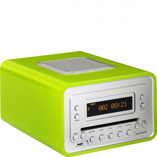 Sonoro Cubo Radio DAB+ Cd-Player - grün