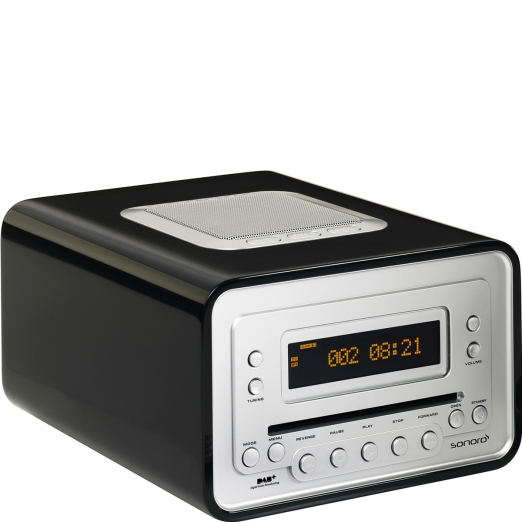 Sonoro Cubo Radio DAB+ Cd-Player - schwarz
