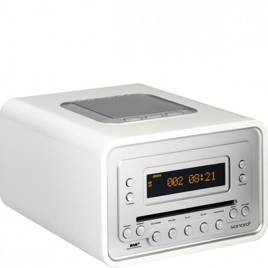 Sonoro Cubo Radio DAB+ Cd-Player - weiß