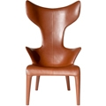 Driade Leder-Sessel Louread by Philippe Starck