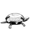 El Casco Tischglocke Schildkröte - edelchrom