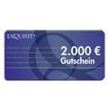 EXQUISIT24 Gutschein �ber 2000 Euro