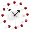 Vitra Wanduhr Ball Clock - rot
