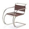 Vitra Miniatur Stuhl MR 20 - Leder