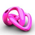 Bitossi Karim Rashid Vase Konvolution Spiralik - pink