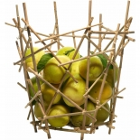 Alessi Zitruskorb Blow Up Bamboo Collection